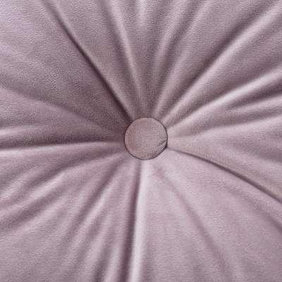 Sametový polštář Velvet s knoflíkem 704-14 tlumená růžová Kolekce Velvet