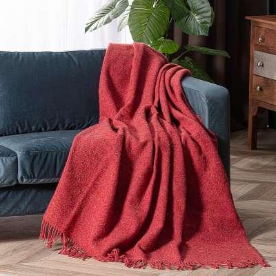 Pled Zelandia 140x200cm melange red