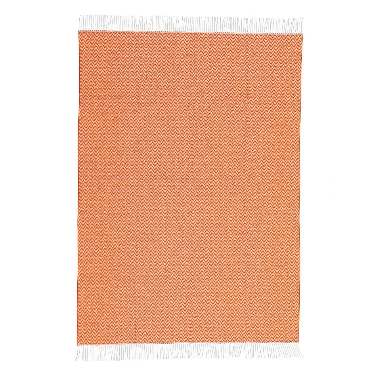 Pled Ibiza 140x200cm orange chevron
