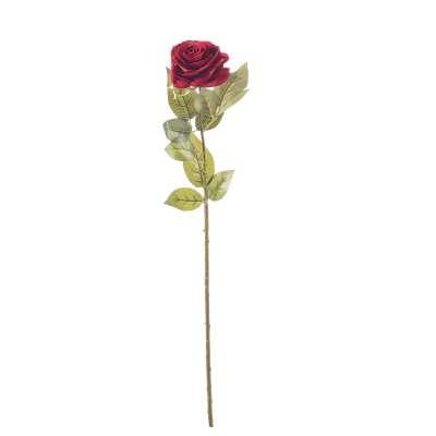 Aritficial flower Rose 67cm Artificial Flowers and  Faux Plants - Dekoria.co.uk