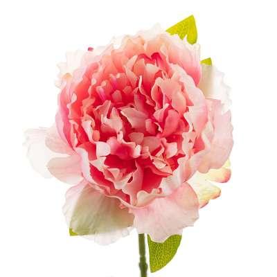 Kwiat Pink Peony 35cm Sztuczne kwiaty - Dekoria.pl