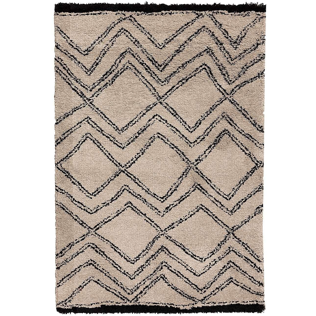 Teppich Royal Nomadic Living sand/black 120x170cm