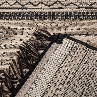 Teppich Origin black/jute 160x230cm