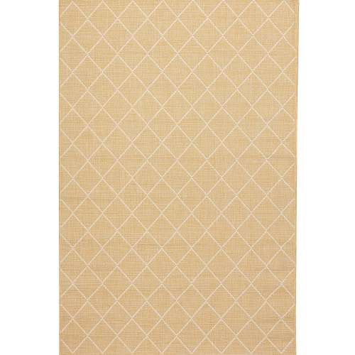 Lineo honey gold/snow white Rug 160x230cm