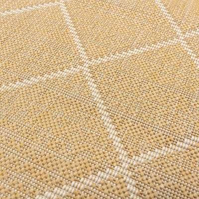 Koberec Lineo honey gold/snow white 160x230cm Koberce - Dekoria-home.cz