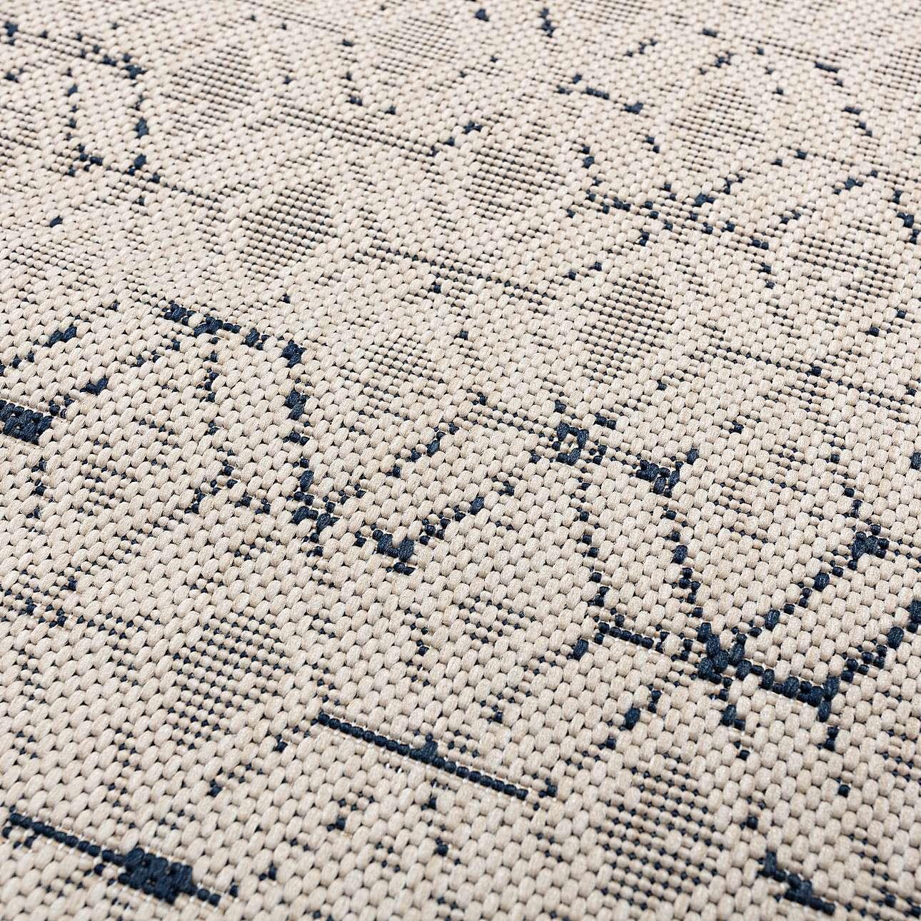Teppich Lineo wool midnight blue 160x230cm