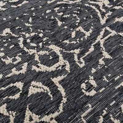 Vloerkleed Velvet wool/petrol blue 200x290cm Vloerkleden - Dekoria.nl