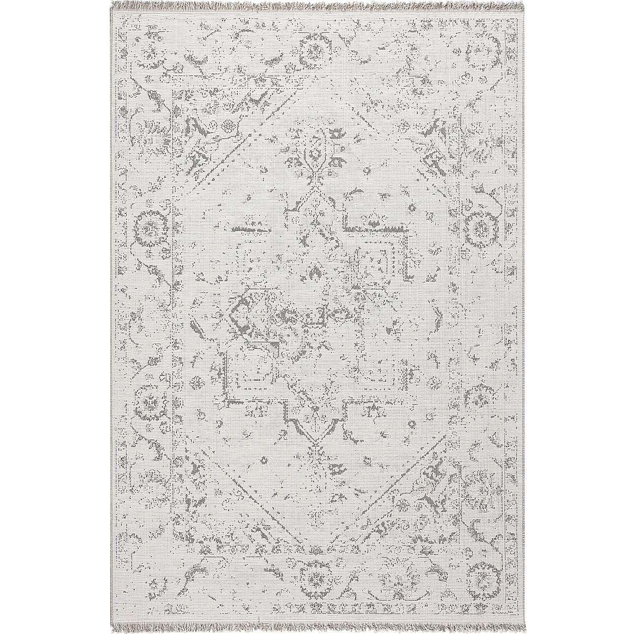 Vloerkleed Tweed cream 200x290cm