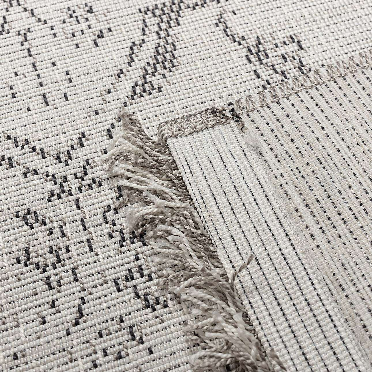 Teppich Tweed cream 200x290cm