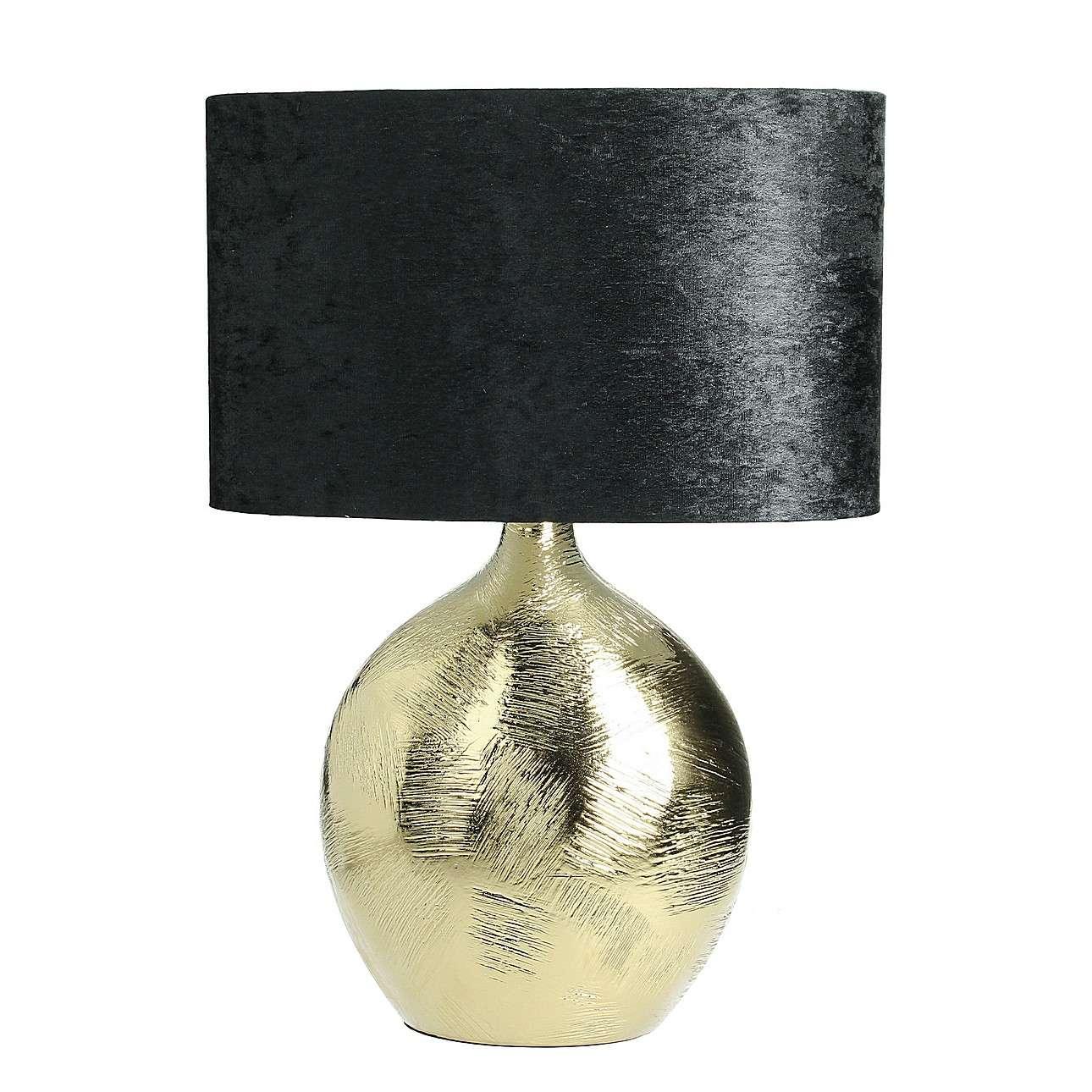 Stolní lampa Lobby Gold výška 53cm