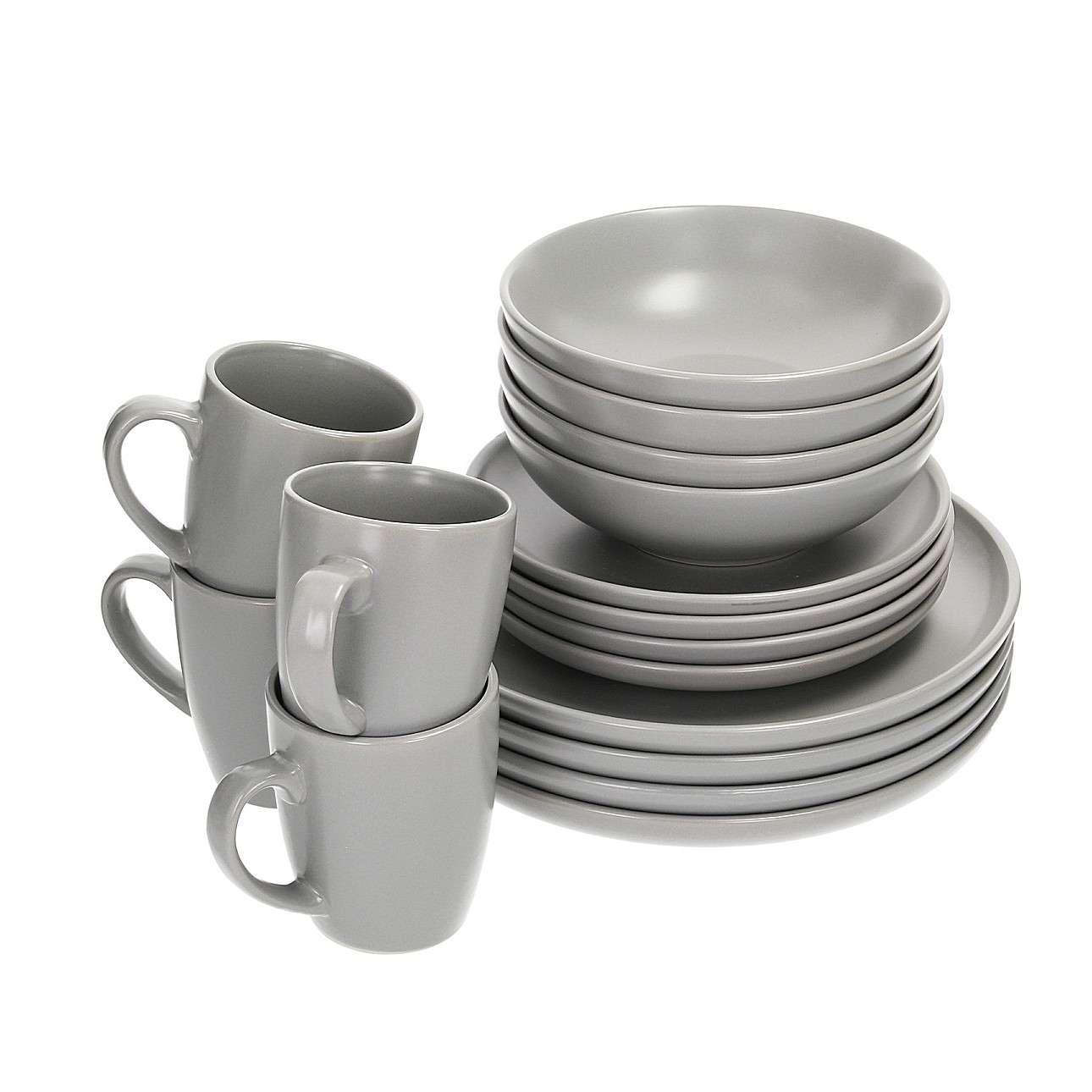 Zestaw obiadowy Vivo Grey 4/16