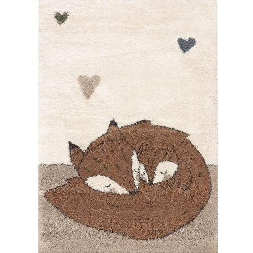 Teppich Sleeping Foxes 120x170cm