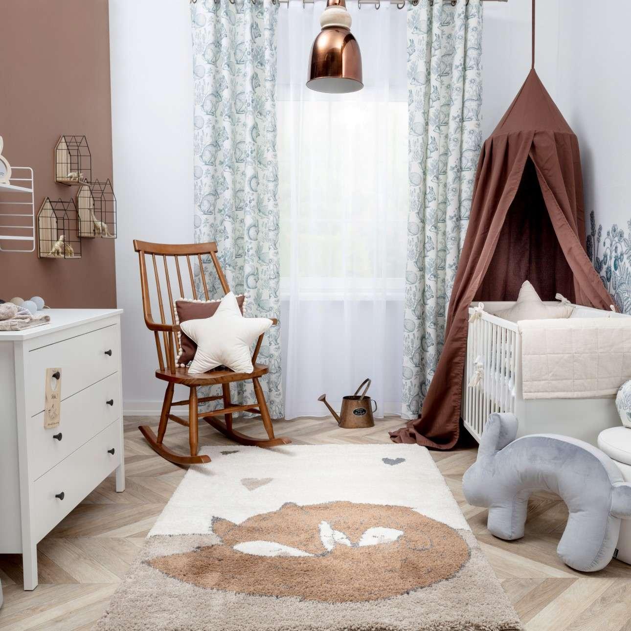 Sleeping Foxes rug 120x170cm