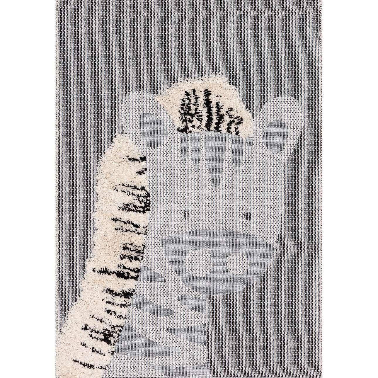 Zebra rug 160x230cm