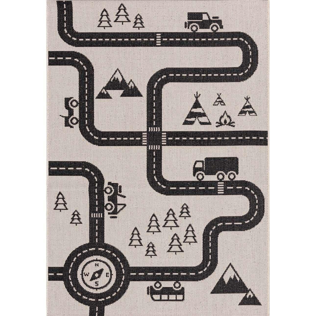 Car Road kilimas 160x230cm