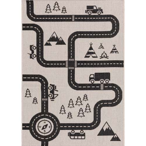 Teppich Car Road 160x230cm