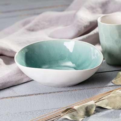Miska Spirit Ice Blue Ceramika i porcelana - Dekoria.pl