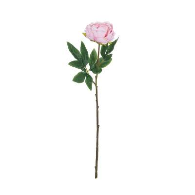 Kunstblume Peony Pink 61cm Kunstblumen - Dekoria.de