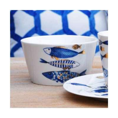 Miska Fish 700ml Porcelán, keramika, sklo - Dekoria-home.cz