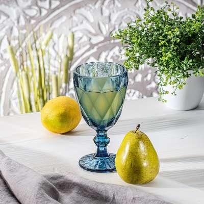 Trinkglas Basic Blue