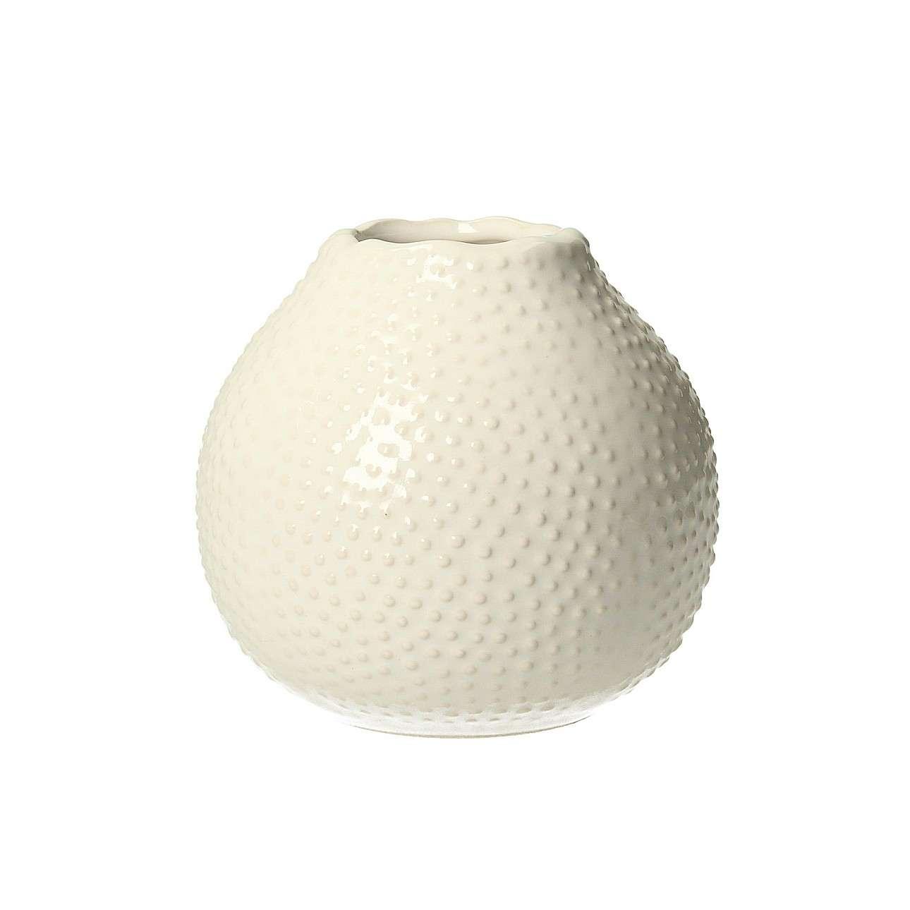 Váza Tessa White 13cm