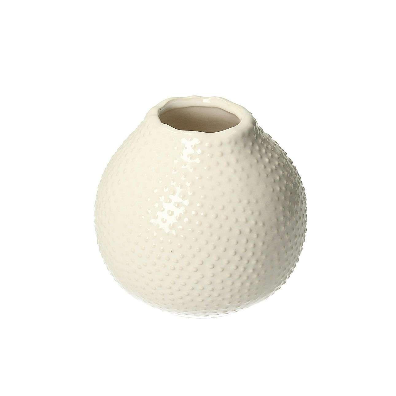 Vase Tessa White 13cm
