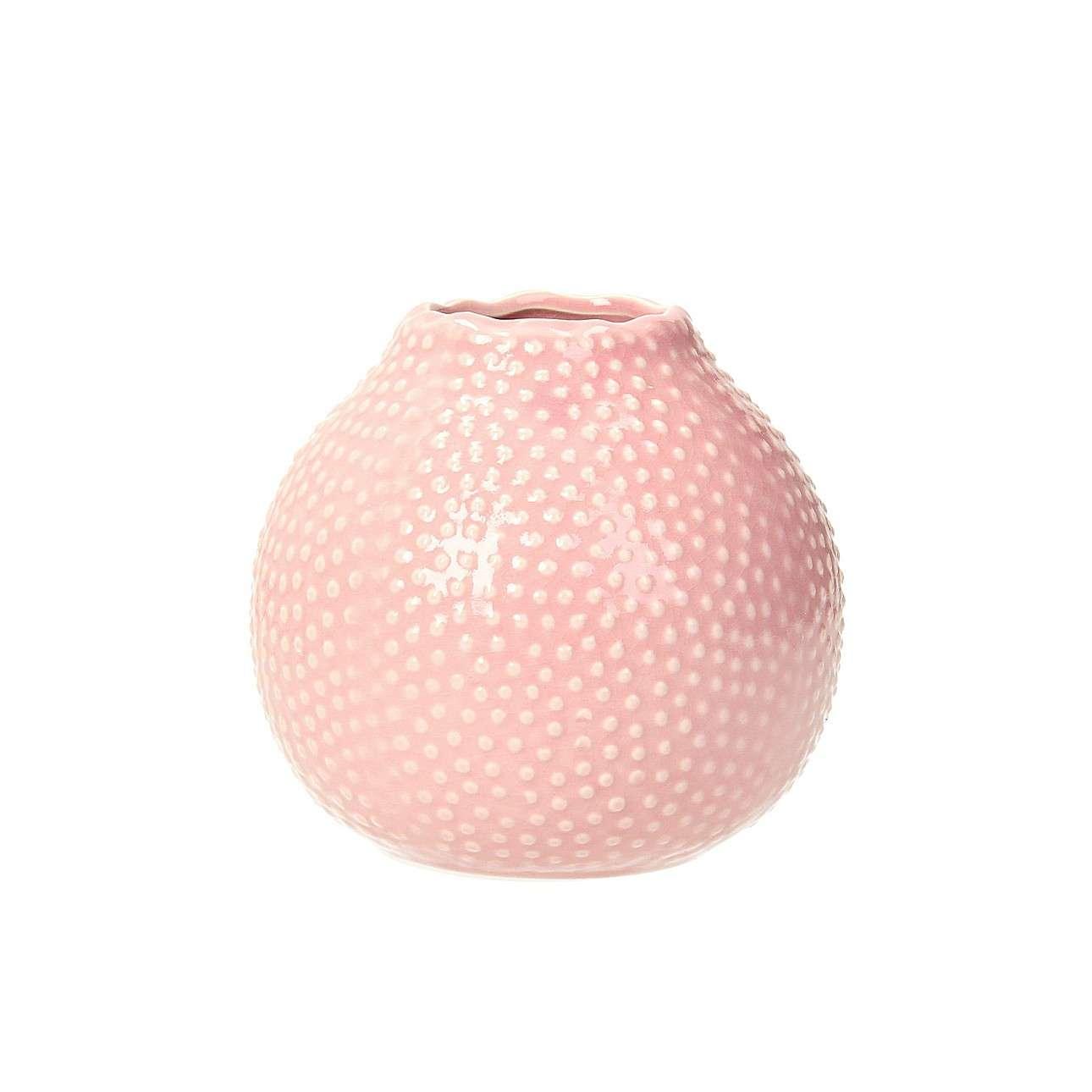Váza Tessa Pink výška 13cm