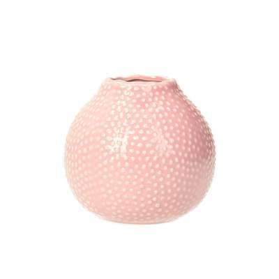 Váza Tessa Pink výška 13cm Vázy - Dekoria-home.cz