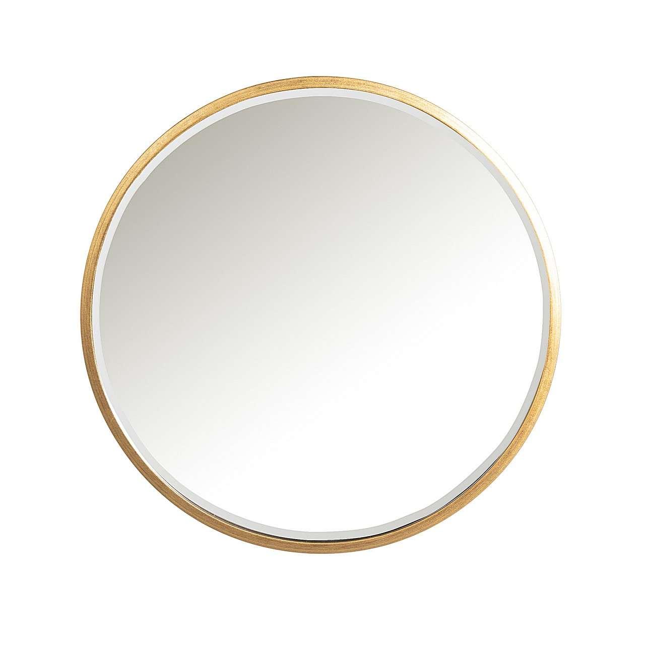 Zrcadlo Vento Gold průměr 80cm