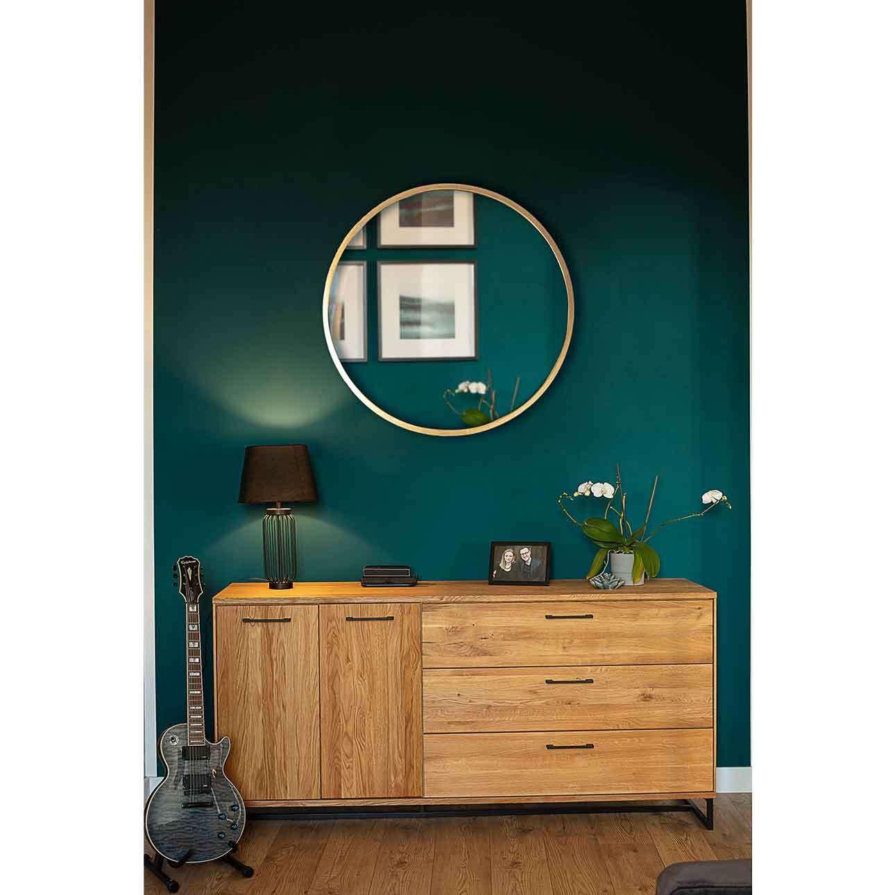 Lustro Vento Gold 80cm