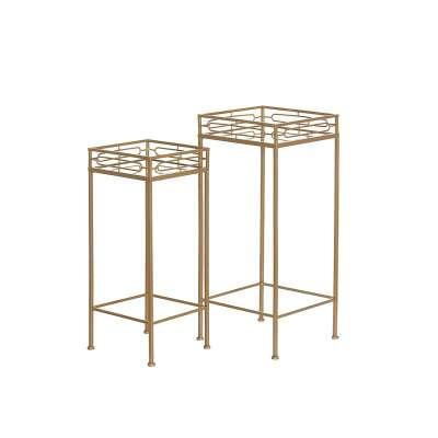 Komplet stolików Bellini Gold 2szt.