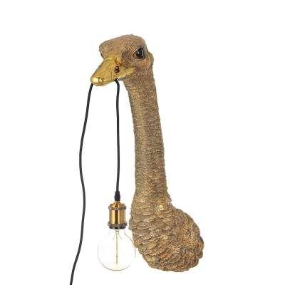 Lampa ścienna Gold Ostrich 72cm Kinkiety - Dekoria.pl