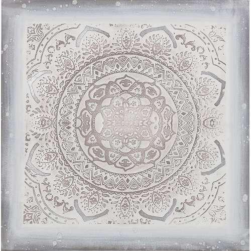 Wanddekoration Ashna II 100x100 cm
