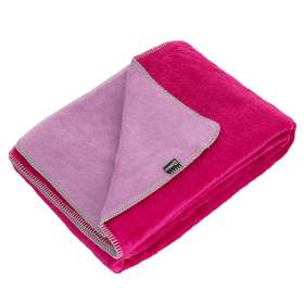 Kuscheldecke Cotton Cloud 150x200 Fuchsia&Lavender
