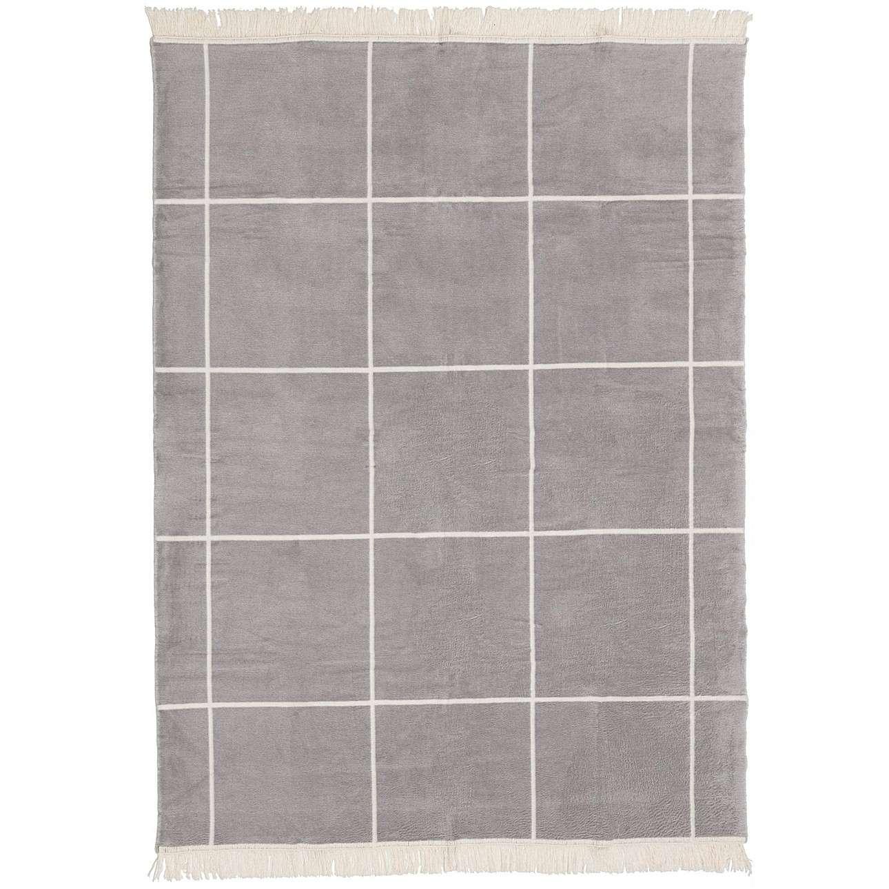 Deka Cotton Cloud 150x200 cm šedá - ecru