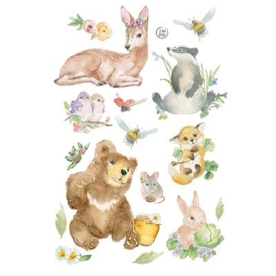 Forest Story Sticker set