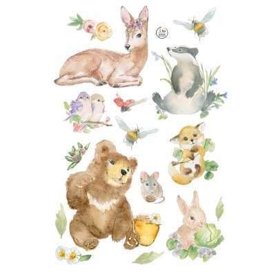 Forest Story lipdukų rinkinys Lipdukų rinkiniai - Yellowtipi.lt