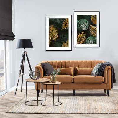 Golden Leaves I Poster Prints - Dekoria.co.uk