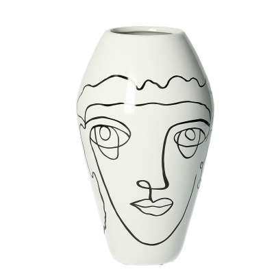 Vase Line 22cm Home Furnishings & Decorations - Dekoria.co.uk