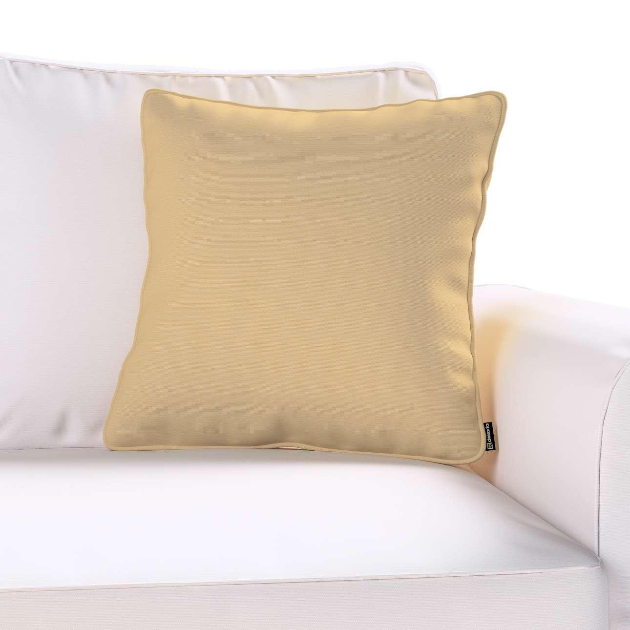 Poszewka Gabi na poduszkę 45 x 45 cm w kolekcji Cotton Panama, tkanina: 702-01