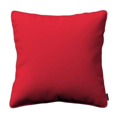 Pudebetræk<br/>Gabi med kant 702-04 Rød Kollektion Cotton Panama