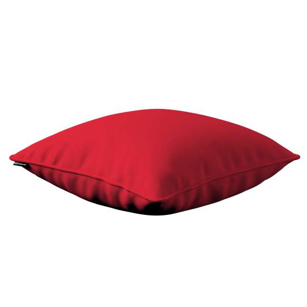 Kissenhülle Gabi mit Paspel, rot, 60 x cm, Cotton Panama