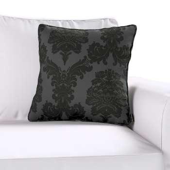 Gabi dekoratyvinės pagavėlės užvalkalas su specialia siūle 45 x 45 cm kolekcijoje Damasco, audinys: 613-32