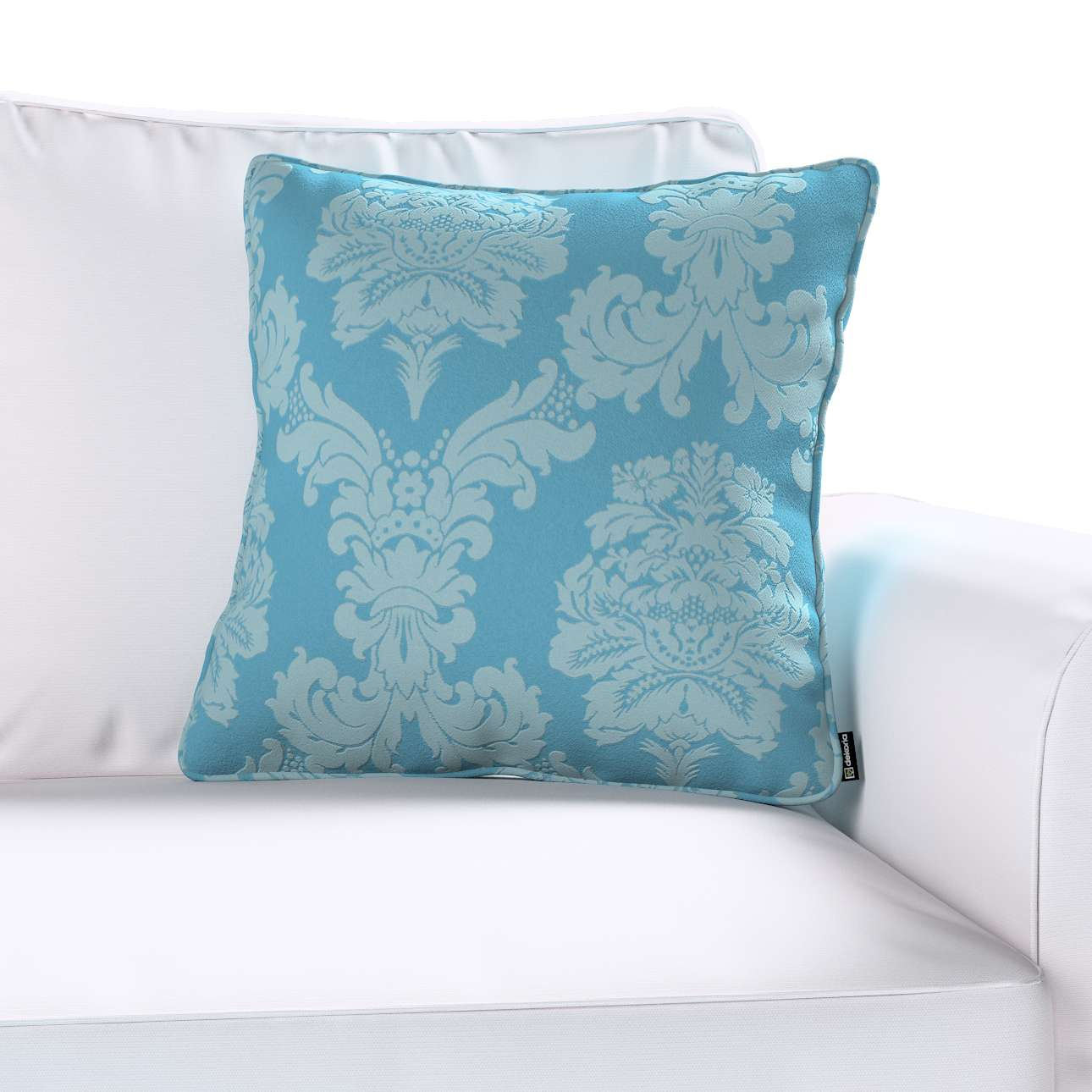 Poszewka Gabi na poduszkę w kolekcji Damasco, tkanina: 613-67