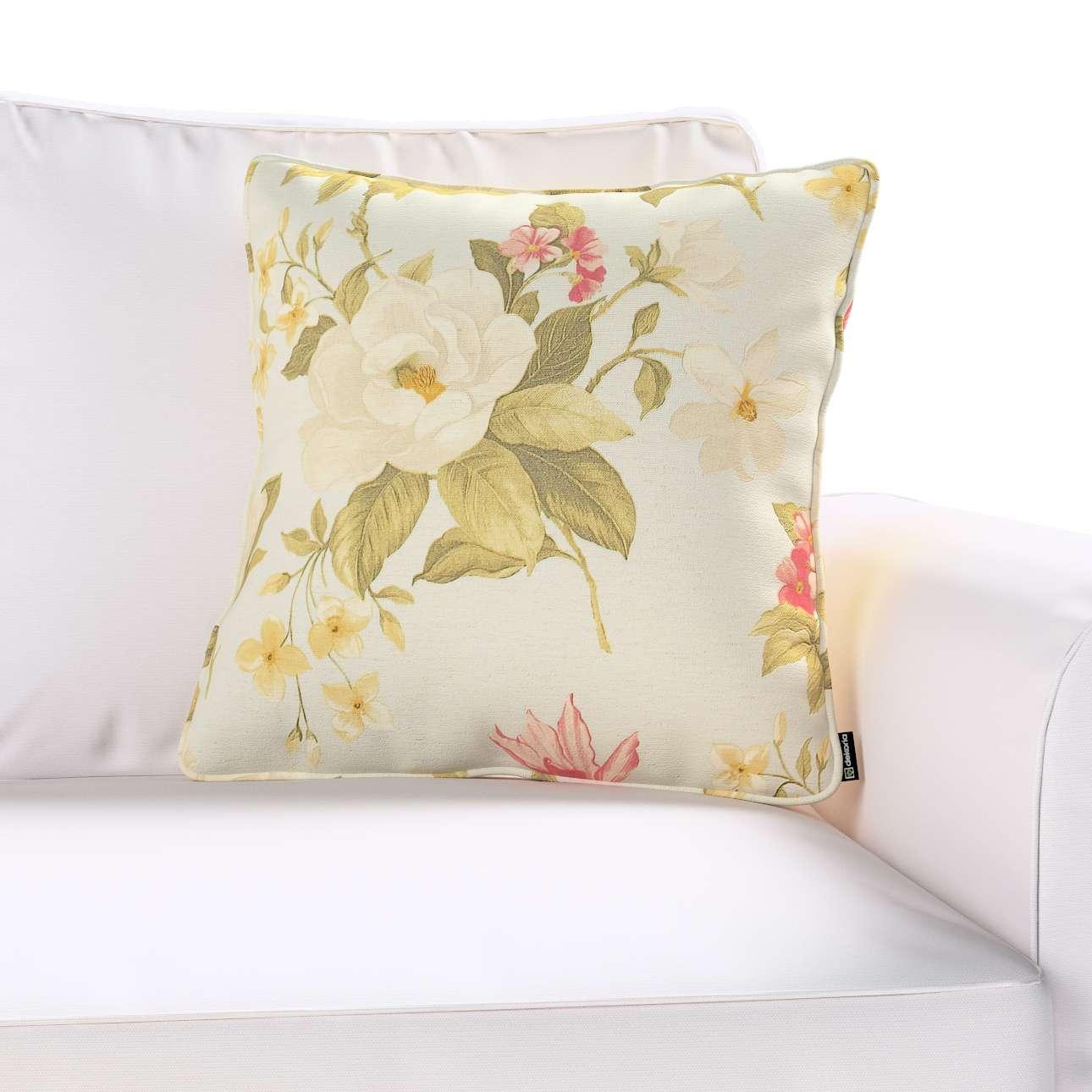 Poszewka Gabi na poduszkę w kolekcji Londres, tkanina: 123-65