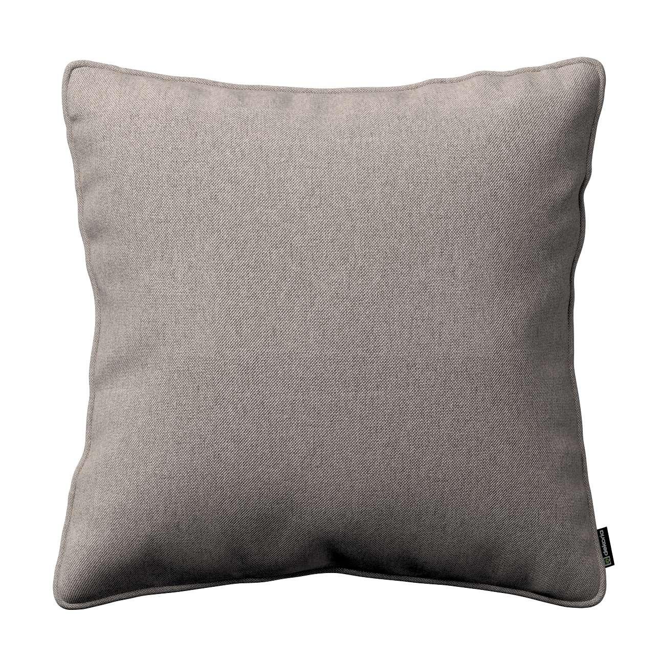 Gabi dekoratyvinės pagavėlės užvalkalas su specialia siūle 45 x 45 cm kolekcijoje Etna , audinys: 705-09