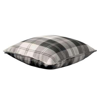 Poszewka Gabi na poduszkę 115-74 krata czarno-biała Kolekcja Edinburgh