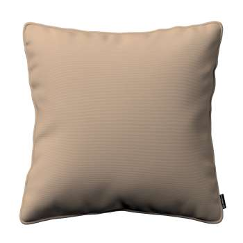 Kissenhülle Gabi mit Paspel von der Kollektion Cotton Panama, Stoff: 702-28