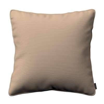 Pudebetræk<br/>Gabi med kant 702-28 Sandfarvet Kollektion Cotton Panama