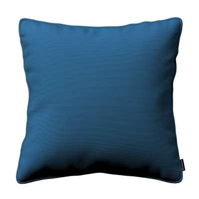 Gabika so šnúrkou, obliečka na vankúš 702-30 modrá morská Kolekcia Cotton Panama